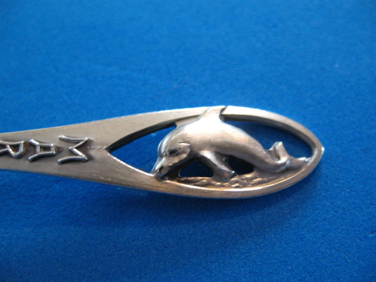 Primary image for Marineland Sterling Silver Souvenir Collector Spoon Dolphin Collectibles Vintage