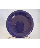 Vintage Fiestaware Cobalt Lunch Plate Fiesta  C - $12.80