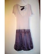 """Patterson J. Kincaid"" mauve/wine balloon dress Size M. - $34.99"