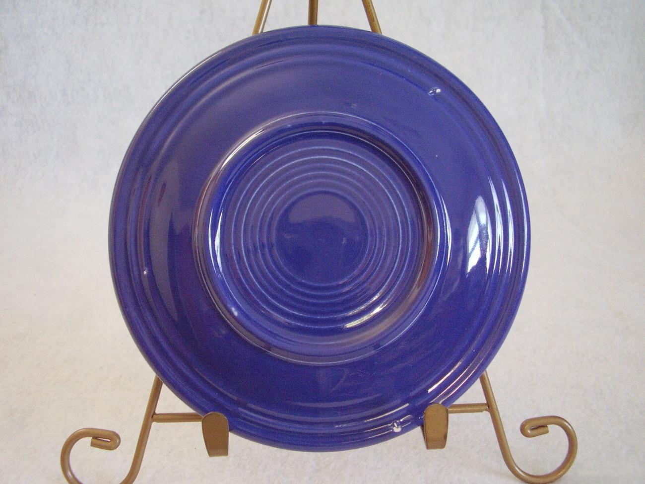 Vintage Fiestaware Cobalt Bread Butter Plate Fiesta  H