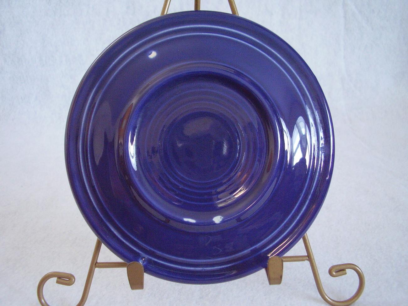 Vintage Fiestaware Cobalt Bread Butter Plate Fiesta  G