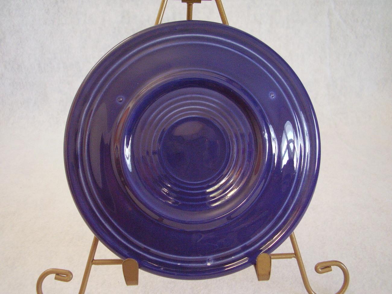 Vintage Fiestaware Cobalt Bread Butter Plate Fiesta  D