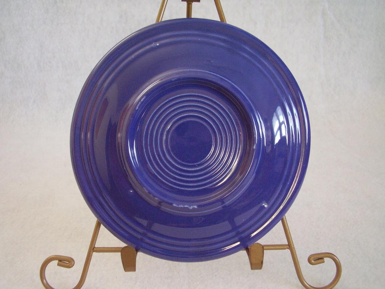 Vintage Fiesta Cobalt Bread Butter Plate Fiestaware  C