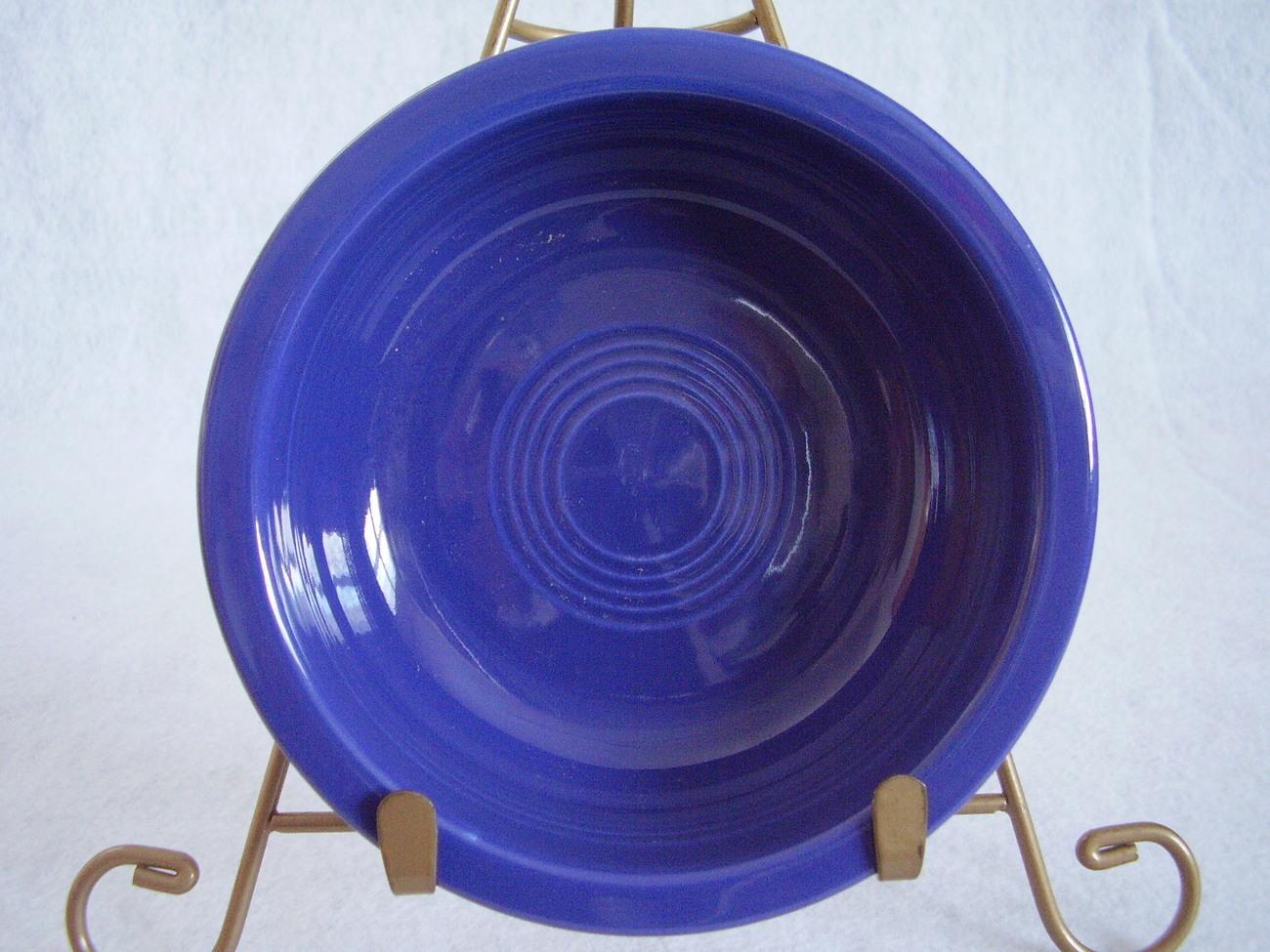 Vintage Fiestaware Cobalt Fruit Bowl Fiesta  Y