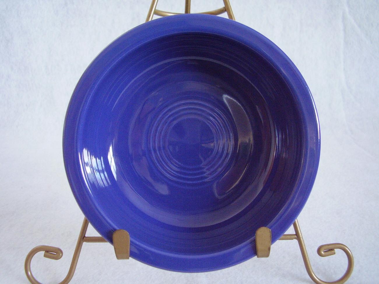 Vintage Fiestaware Cobalt Fruit Bowl Fiesta  W