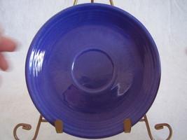 Vintage Fiestaware Cobalt Teacup Saucer Fiesta  K - $12.24