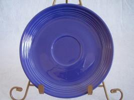Vintage Fiestaware Cobalt Teacup Saucer Fiesta  F - $12.96