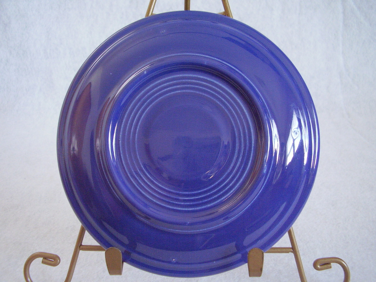 Vintage Fiestaware Cobalt Teacup Saucer Fiesta  F