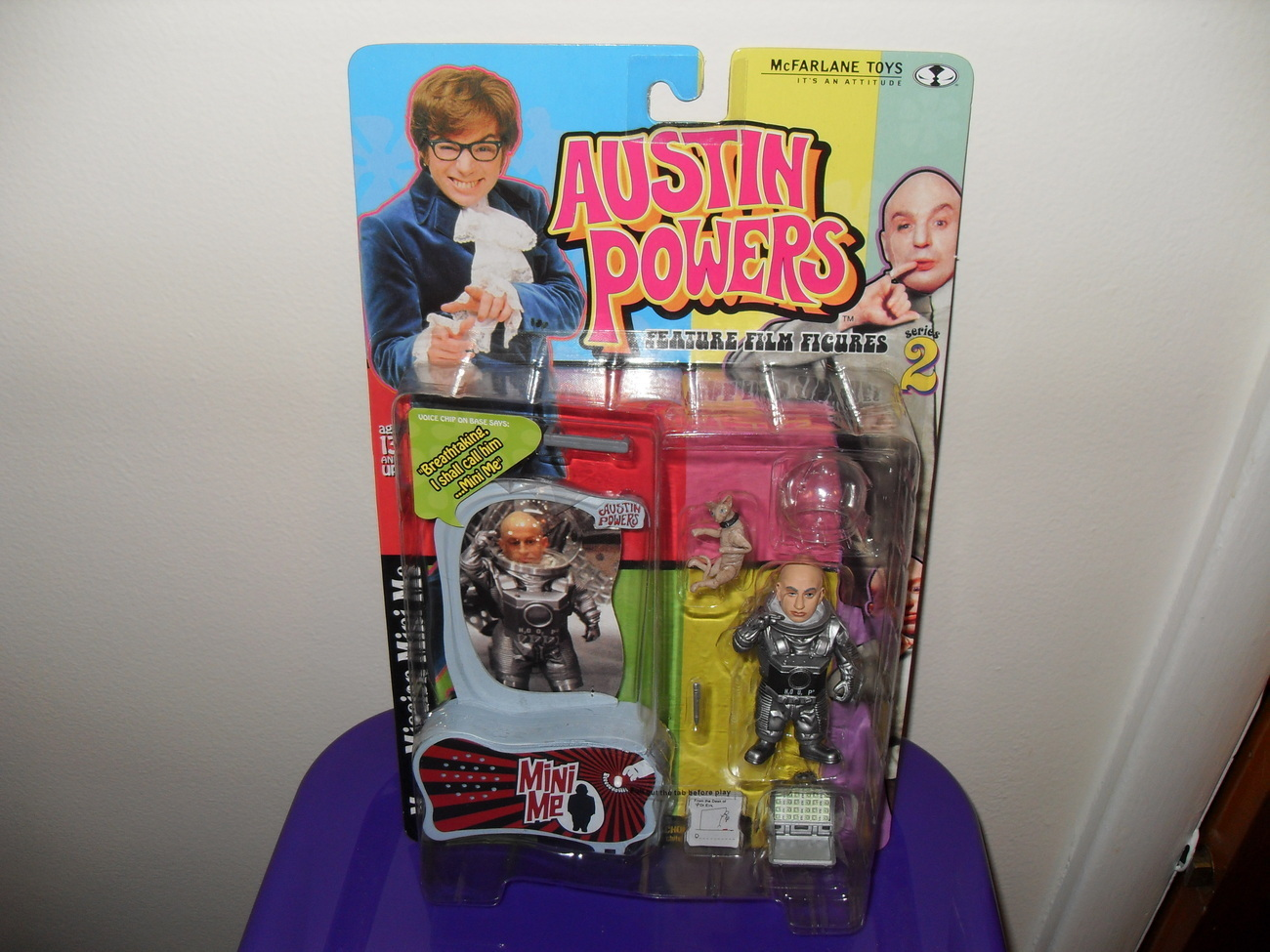 Primary image for 1999 McFarlane Austin Powers Mini Me Figure New In The Package