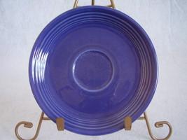 Vintage Fiestaware Cobalt Teacup Saucer Fiesta  D - $12.96