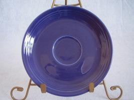 Vintage Fiestaware Cobalt Teacup Saucer Fiesta  B - $13.68