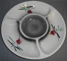1961 Set (2) LANE & CO Mid Century Design CHIP/DIP TRAYS California Pottery - $39.59