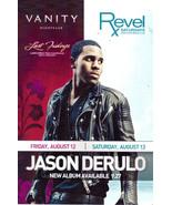JASON DERULO Live @ VANITY Hard Rock Hotel Las Vegas Promo Card - $1.95