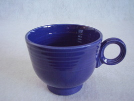 Vintage Fiestaware Cobalt Ring Handle Teacup Fiesta F - $20.25
