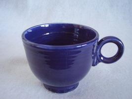 Vintage Fiestaware Cobalt Ring Handle Teacup Fiesta D - $20.25