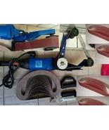 Pipe Tube Polisher 50 Belt Sander stainless steel iron fits Metabo FEIN ... - $222.74