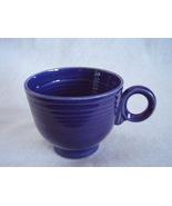 Vintage Fiestaware Cobalt Ring Handle Teacup Fiesta C - $17.82