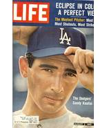 sandy koufax life magazine august 1963 - $29.99