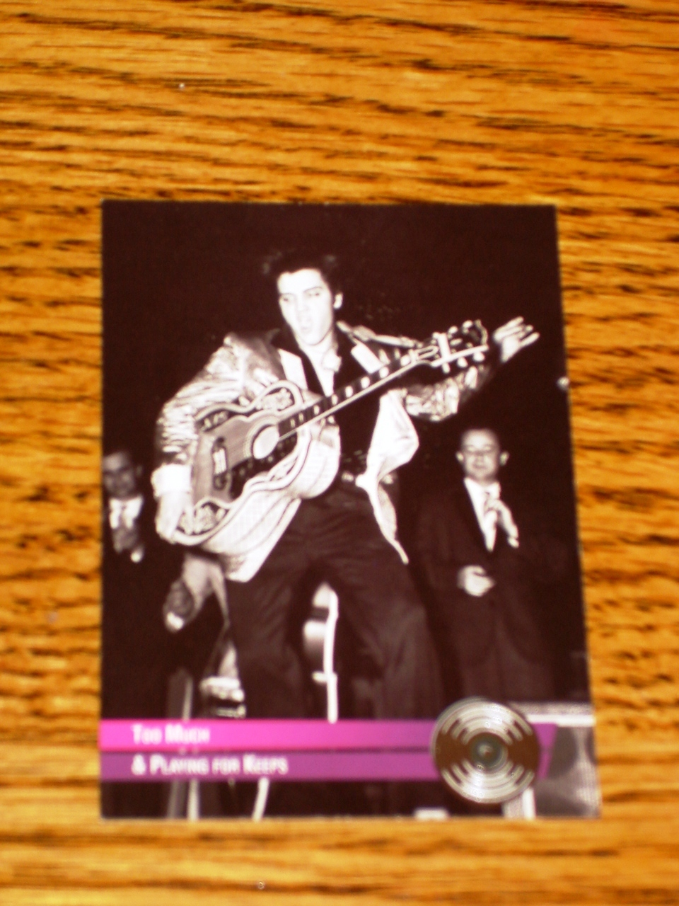 ELVIS PRESLEY PLATINUM CARD TOO MUCH & PLAYING FOR KEEPS #28