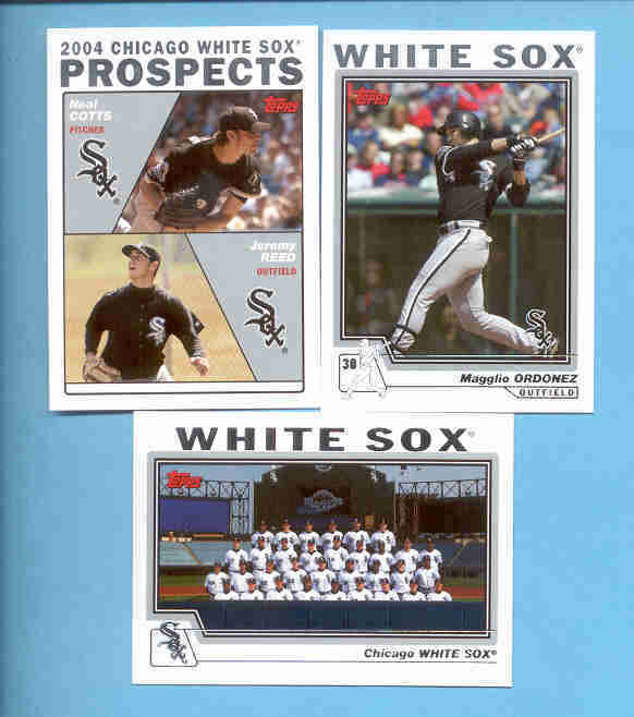 2004 Topps Chicago White Sox Baseball Set