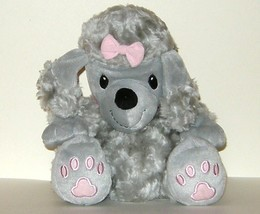 1/2 off! Its Outrageous Toy Plush Gray Poodle Hand Puppet 2002 - $4.00