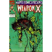 Marvel Comics Presents #73 (Weapon X) [Comic] [Jan 01, 1991] Barry Winso... - $6.84