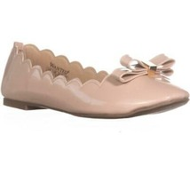 Wanted Olivia Scalloped Ballet Flats, Nude, 5.5 US / 35.5 EU - $23.03