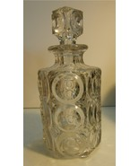 EAPG Decanter - Giant Bulls-Eye pattern - ca. 1889 - $50.00