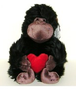 1/2 Price! Russ Berrie Applause Plush Black and Brown Ape with Red Heart... - $6.00