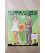 2001 Reprint CHARLIE CHAPLIN & PAULETTE GODDARD PAPER DOLLS Shackman & C... - $14.84