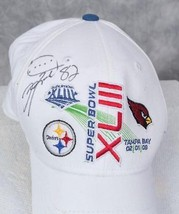 Pittsburgh Steelers Super Bowl XLIII 2009 Antwan Randle El Autograph Hat jds2 - $29.69