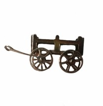 Vintage Sterling Silver Charm For Bracelet Pendant Wagon Movable Farm Ha... - $21.37