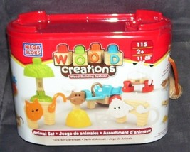 Mega Bloks WOOD CREATIONS ANIMAL SET NEW! #115 - $24.96