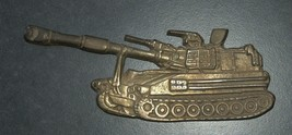 IDF Zahal Honor Shield Armored Forces Vintage Tank Bronze Figurine Israel  image 3