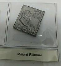 sterling silver Millard Fillmore presidential stamp ingot  - $23.20