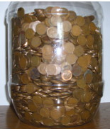 500 Copper Lincoln Wheat Cents   - £23.52 GBP
