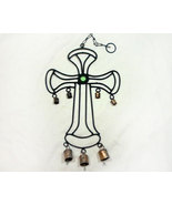 Inspirational Country Metal Cross Windchime - $10.95