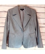 Alex Marie Ladies Gray Blazer Jacket Coat Petite Size 12 NWT - $49.00
