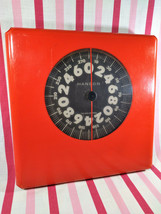 Awesome MOD Orange 1960's HANSON Personal Bathroom Weight Scale Lucite &... - $48.00
