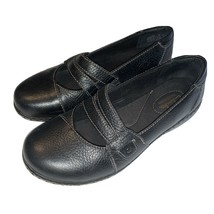 CLARKS Bendables Womens' Casual Slip-On Leather Shoes - Size 7W - $18.32