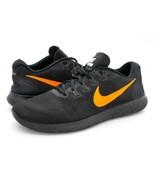 Nike Mens 12 Free RN Black Low Athletic Sports Sneaker Running Shoes EUR 46 - $39.99
