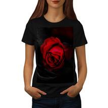 Beauty Red Rose Shirt Romantic Flower Women T-shirt - $12.99