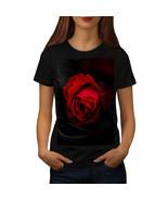 Beauty Red Rose Shirt Romantic Flower Women T-shirt - £9.39 GBP