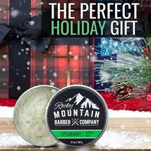 Shaving Soap - Traditional 100% Natural Spearmint Shave Soap - Long Lasting 3.7  image 2