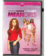 LINDSAY LOHAN  * MEAN GIRLS *  DVD  004 ~ FULL SCREEN SPECIAL COLLECTORS... - $2.99