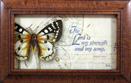 Music Box - The Lord Is My Strength and Song Psalm 118:14 Plays Amazing ... - $29.05