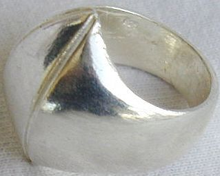 Fashion silver ring