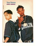 Kris Kross Grant Show teen magazine pinup clipping Motocycle Teen Dream ... - $3.50