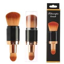 Brochas Kabuki Para Maquillaje Profesional Aplicación Base Polvo Crema - $18.76