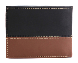 Timberland Men's Genuine Two Tone Leather Credit Card Billfold Commuter Wallet image 12